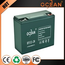 Durable lovely 12V 20ah newest deep cycle battery price