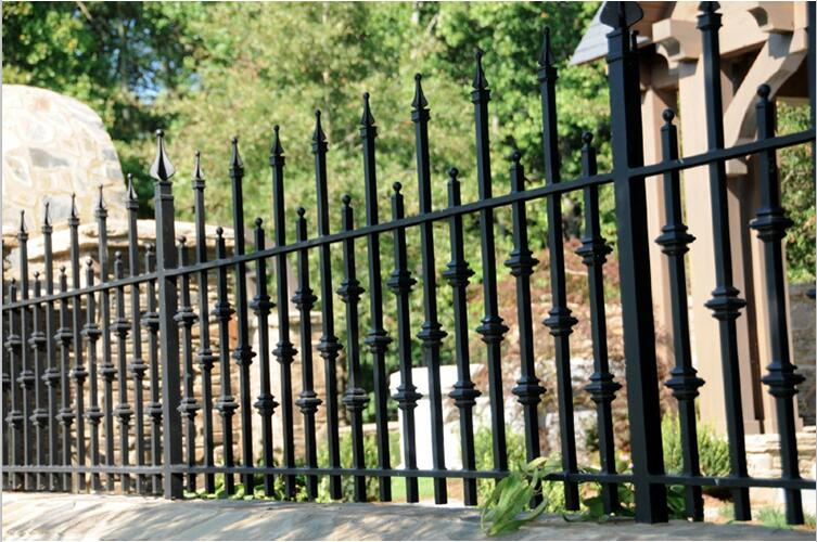 China wholesale Customized solid metal fence panel
