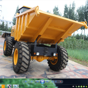 New Heavy duty type 7ton China Site Dumpers