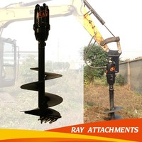 hydraulic ground hole drill earth auger for 17-25T excavator