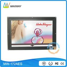 17 inch bus lcd video advertising media player with motion sensor