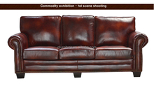 new design vintage Style violino leather sofa PFS162