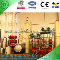 waste engine oil distillation plant/waste oil recycling machine
