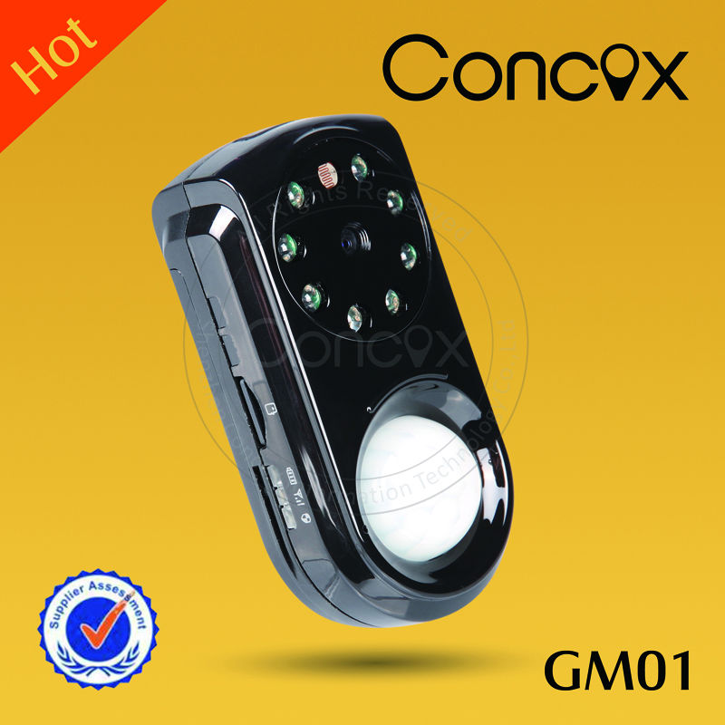 Concox Alarm remote control GM01 Voice & Video recording,picture taking