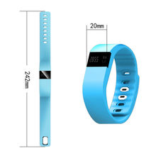 Fitness Activity Tracker Bluetooth 4.0 Sport Bracelet Wristband Pedometer For IOS Android TW64