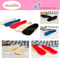 3cm Unisex heel Height Increase Elevator Shoes half taller Insoles foam Shoe lift,shoes silicone insole taller height