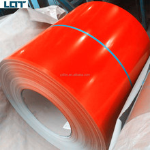ppgi ppgl red aluzinc aluminized steel coil roof sheet ppgl color prepainted coating roofing sheet roll steel coil az150