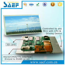 7 inch for industry module Wide voltage range LCM Digital TFT Module capacitive touch screen
