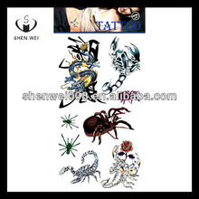 different insect japanese animal print flower adult tattoo