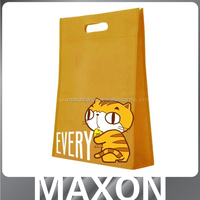 with zipper top and zipper pocket customized recyclable jumbo bag with pocket,non woven bag