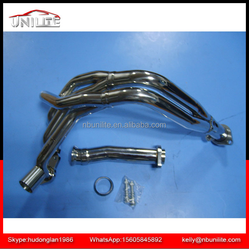 Stainless Steel exhaust manifold Header for VW Polo 6N 1.0 8V - 1.6