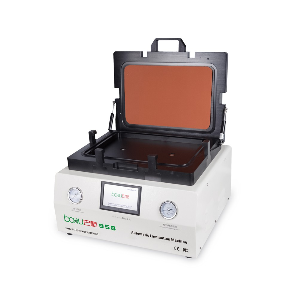 BAKU BK-958 Newest all in one automatic refurbishing LCD repair machine mobile phone screen lamination machine