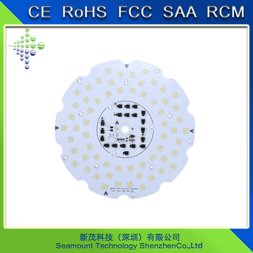 LED lights factory customer made 50W to 200W SMD AC led module 220V