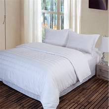 High class hotel bedding 100% cotton dobby texture fabric