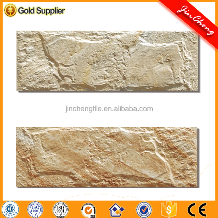 Slate style Made in China travertine Outdoor glazed acrylic wall tile