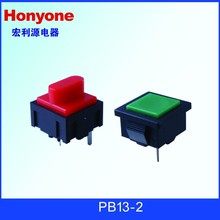 PB13-A-GN-S momentary low voltage push button switch