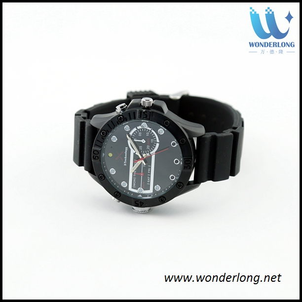 Outdoor sport action wrist watch,H264 720P IR night vison spy watch camera