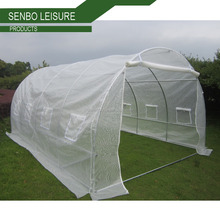 popular agriculture greenhouse /poly mesh cloth garden green house/ tunnel greenhouse