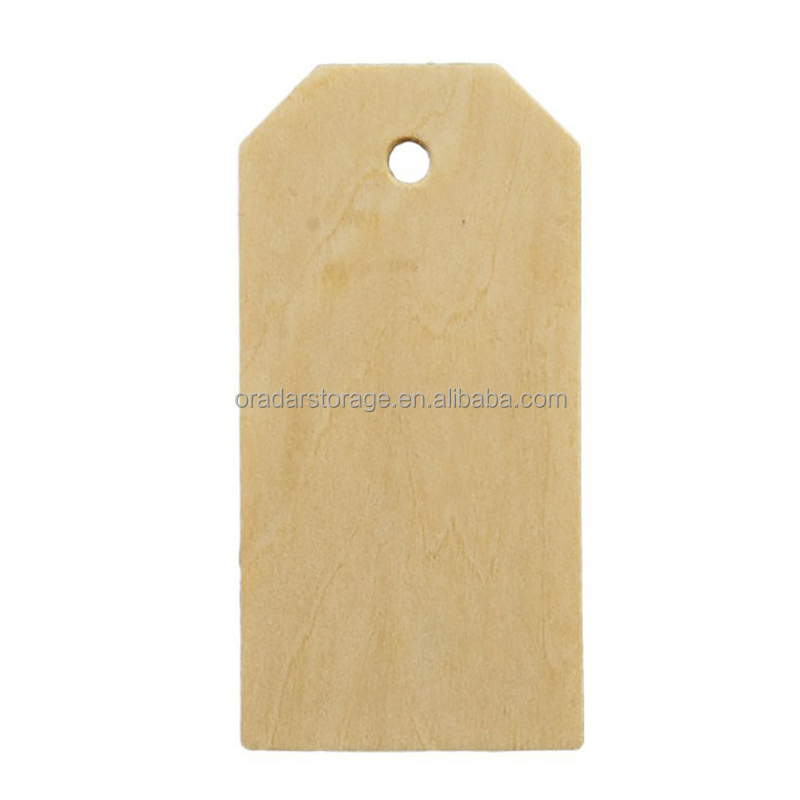 Blank Wood Gift Tags for Wine Or Decor Weddings