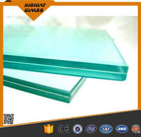 High quality Clear & Tinted Laminated Glass Building Glass factory