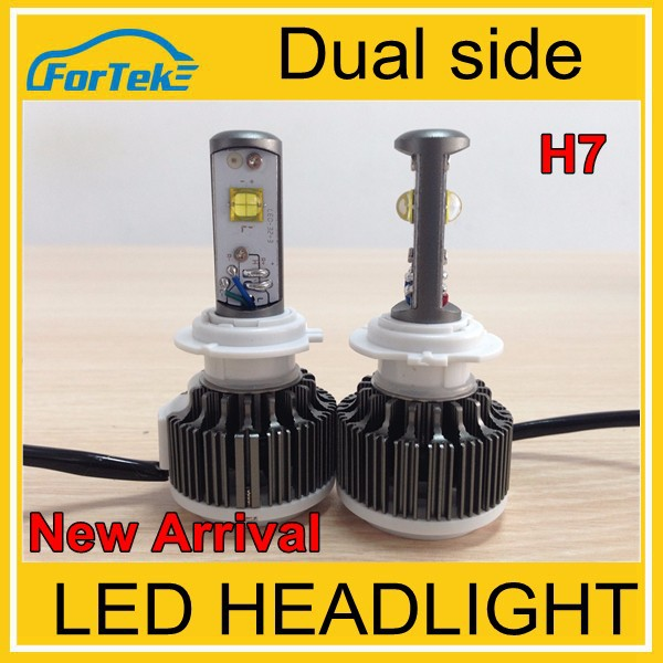 Auto&truck led h7 6000lm the latest technology, better than COB