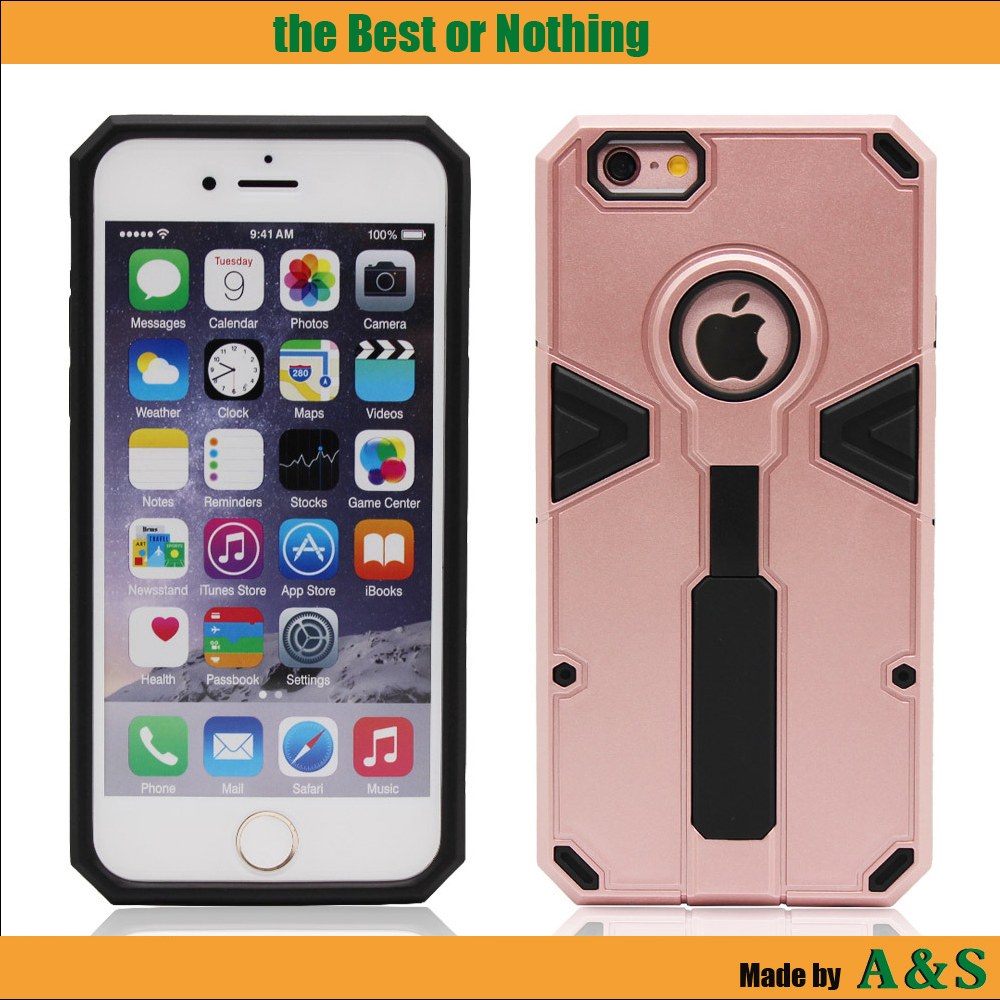 Transformer Anti-theft Finger Ring Strap TPU Mobile phone case for iPhone 6