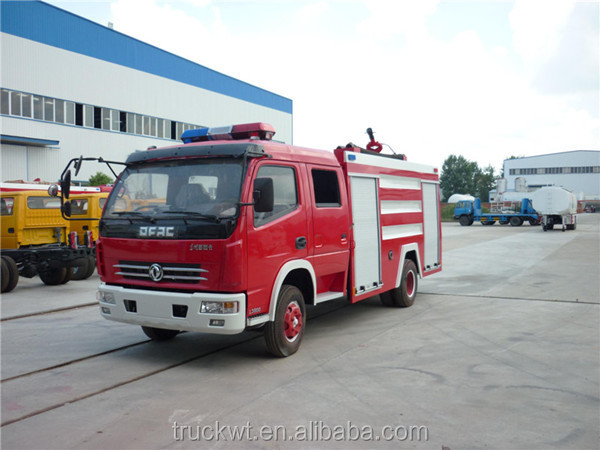 wmkj_1_3ton to 4 ton dongfeng Duolika 120hp water tank fire fighting truck