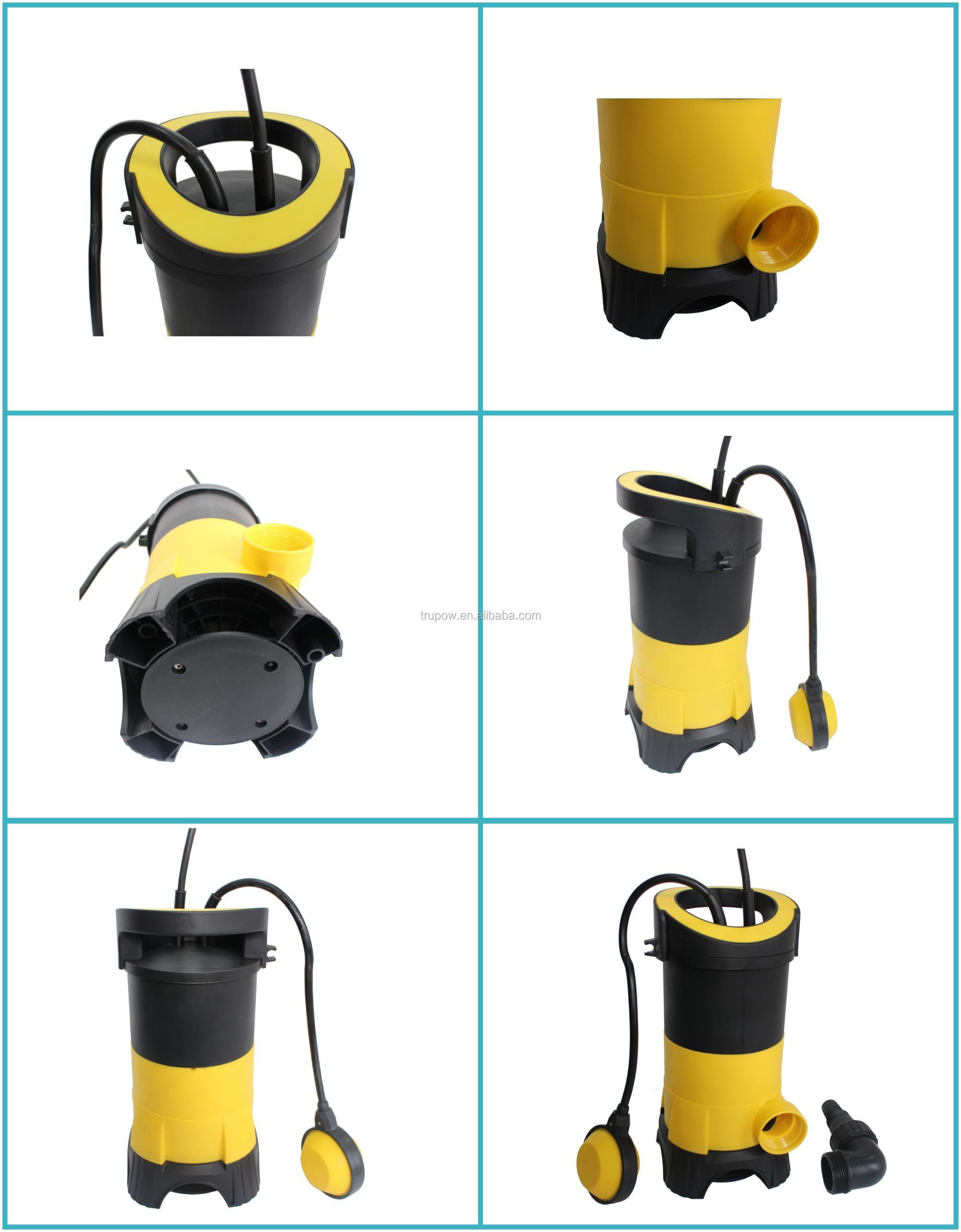 Garden Automatic Electric Dirty Clean Water Submersible Sump Pump 115V