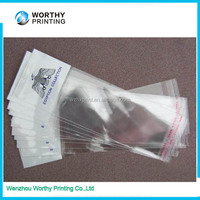 clear plastic opp self adhesive cellophane bags