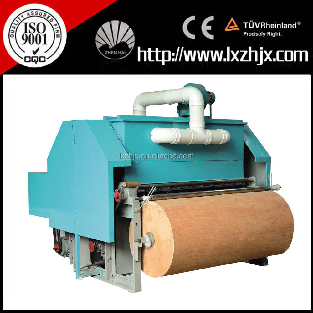 Cotton carding rolling machine for making quilts