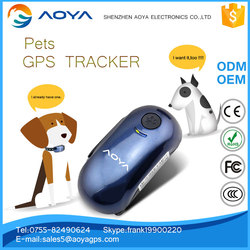 Pets Dog Cat Tracking device Real Time Pet GPS ID Tracker Tracking Location GSM