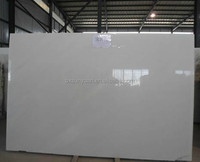 China Best White Marble Big Slab Baoxing White Marble Slab Prices Per Square Meter