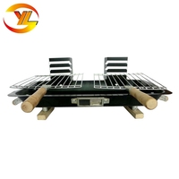 Portable simple barbeque grill japanese hibachi