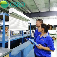 Latest electric rolling shutter slat with ceiling