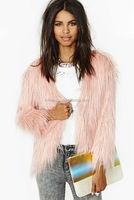 Winter Long Hair Faux Mink Fur Coat for Women LC142