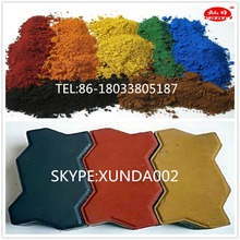 iron oxide prices/color powder red 190 for paint/cold asphalt/concrete