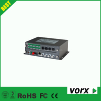 4ch video 2ch audio/data/switching value 80km digital uncompressed video fiber optic transmitter and receiver
