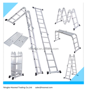 Multifunction Aluminum Folding Step Extension Folding