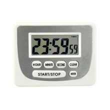 Plastic small size countdown clock digital timer for wholesales kitchen timer
