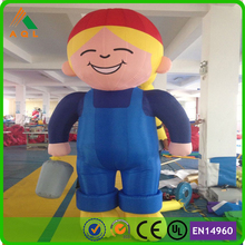 Advertising products giant inflatable figures/ air inflatable figures for sale