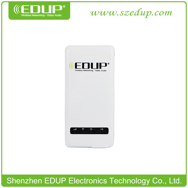 Hotselling EDUP 3g pocket wi fi router with 4500mAh power bank
