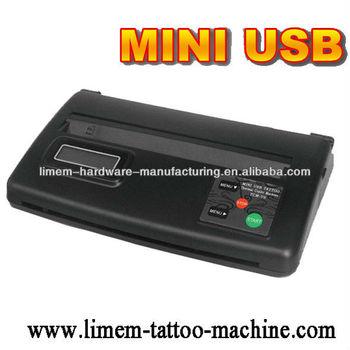 Usb tattoo stencil copier tattoo thermal copier stencil for Tattoo stencil copier