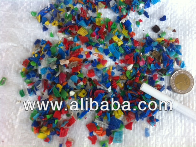 HDPE Flakes (Unwashed)