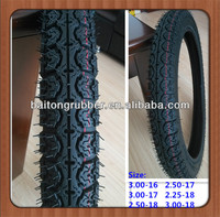 Motorcycle tire 3.00-18, 2.50-18, 2.25-18, 3.00-17, 2.50-17, 3.00-16 Hot Sale In Eygpt Market.