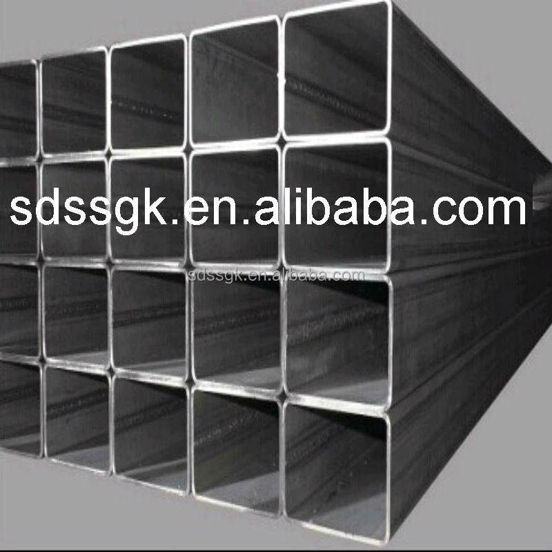 Q345 GB/T19001-2008 Weight Square Hollow iron Steel tube Product on Alibaba.com