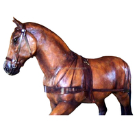 Fist rated animal fiberglass horse sculpture life size horse statues for sale in window display