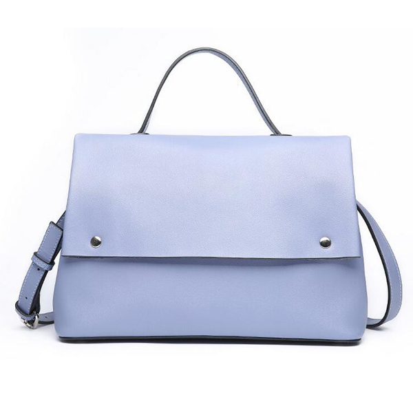 GL1127 online shop china pure color real leather ladies fashion handbags