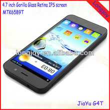 "Android 4.2 mobile phone MTK6589T Quad core 4.7"" IPS Gorilla glass screen 13MP camera"