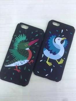 custom-made cute cartoon bird hard phone case for iphone 7