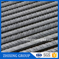HRB400 Grade Steel Rebar steel rebar, deformed steel bar, iron rods for construction HRB400 Grade and 6m rebar